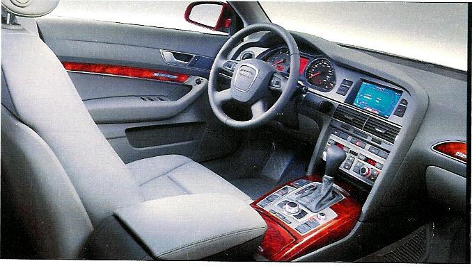 Tableau De Bord De La Nouvelle L Audi A6 Auto Titre