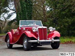 MG td 1951 30.000 fabriquees de 1950 a 1953