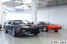 BMW M1 E26 (BMW museum)