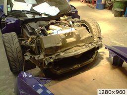 speedster en réparation (2010)