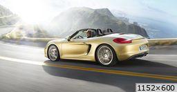 Porsche Boxster 981  (2012)