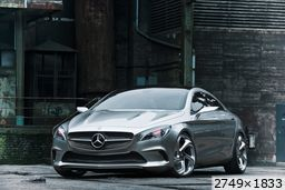 Mercedes concept Style Coupe (2012)