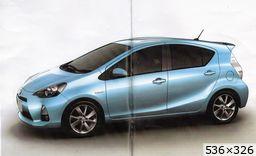 Toyota Prius C (2011)