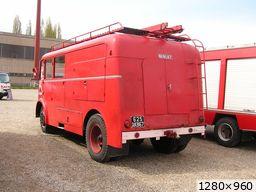 Ancienne cuisine roulante de l'amicale des pompiers de Barr