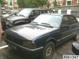 Peugeot 505 chinoise (1990)
