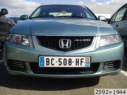 Honda Accord VII phase 1 Sport (2003)