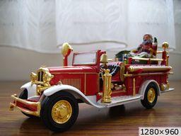 camions des pompiers du père noèl